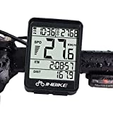 Waterproof Bike Computer Cycling Bicycle Odometer Speedometer With Wireless LED Backlight