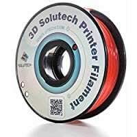 3D Solutech See Through 3D Printer PLA Filament, Dimensional Accuracy +/- 0.03 mm, 2.2 lb. (1.0 kg) - 100% USA, 1.75 mm, PLA by 3D Solutech