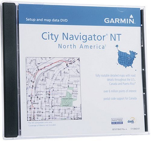 Garmin Navigator America Detailed United