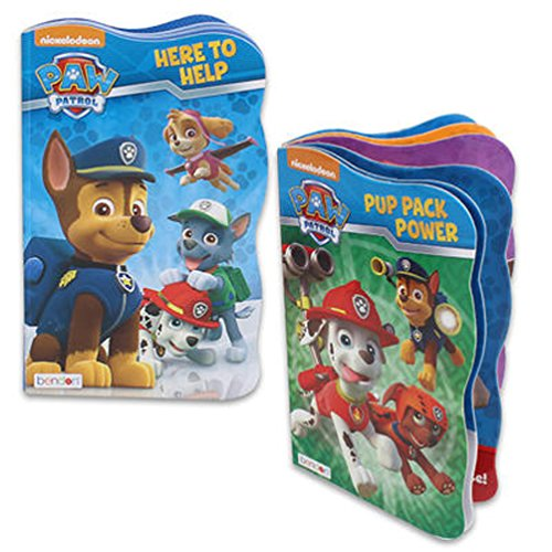 Paw Patrol Board Book Set - 2 Shaped Board Books