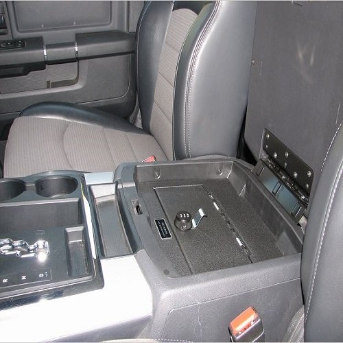 The Console Vault for Dodge Ram Truck 2009 - 2010