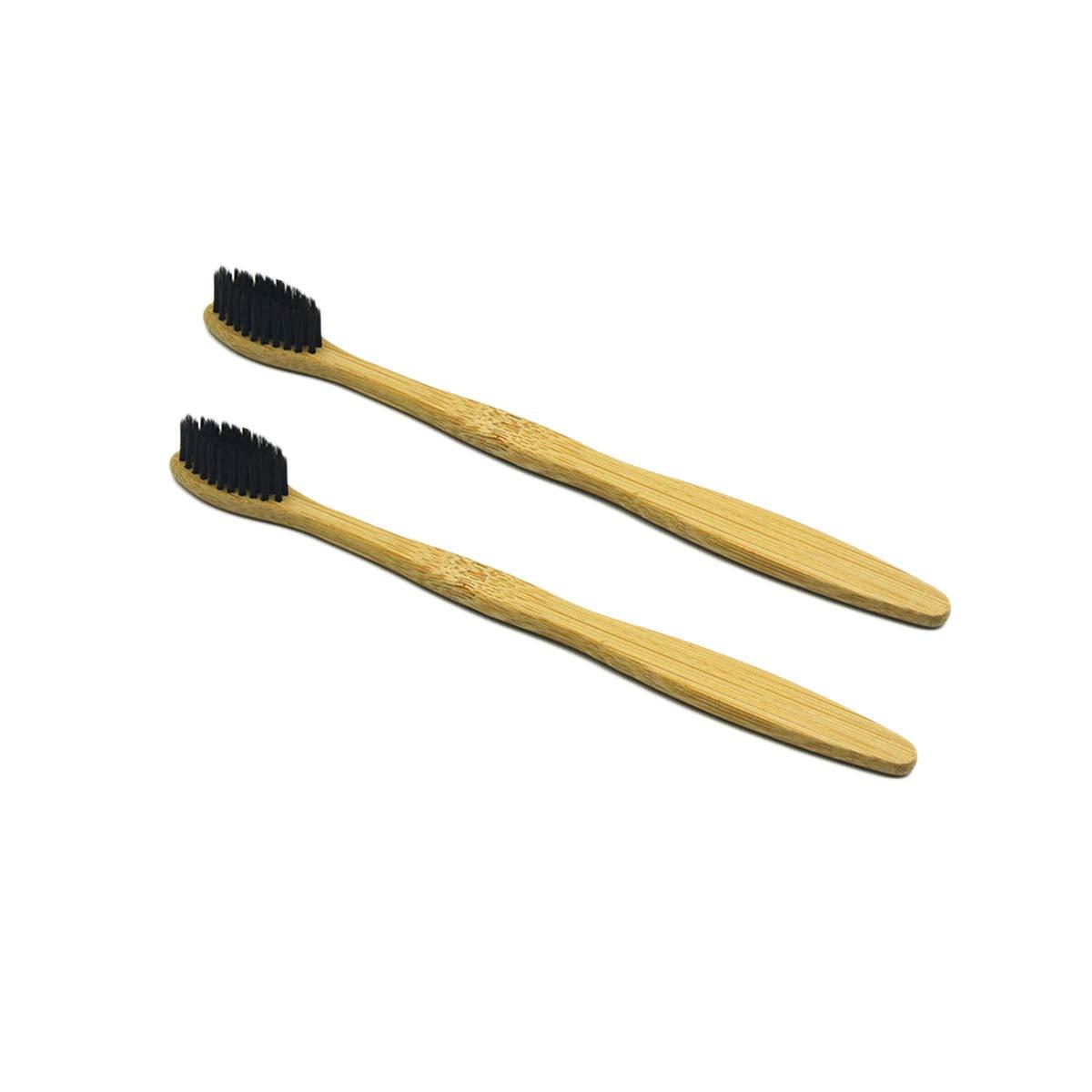 5 cepillos de dientes de bambú natural respetuosos con el ...