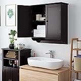 HOMFA Bathroom Wall Cabinet, Over The Toilet