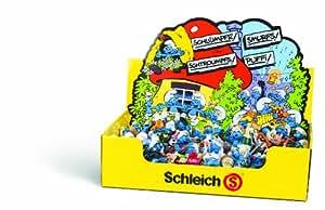 Schleich 20900 - Juego de figuras de los Pitufos (100 piezas, 50 modelos)