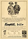 locate people - 1911 Ad Fashionable People Campbells Soup John Durrance - Original Print Ad