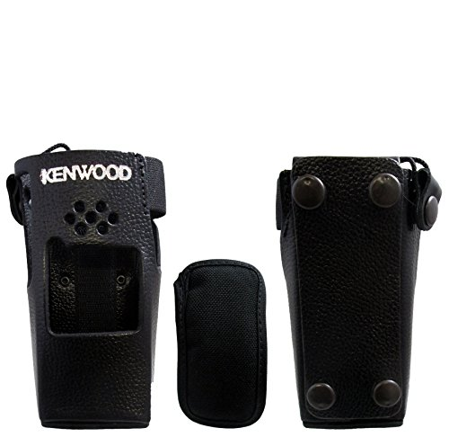 Dtmf Leather - New Original Kenwood KLH-122 Leather Holster TK-2180 TK-3180