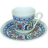 Turkish Coffee Set (Cup and Saucer)