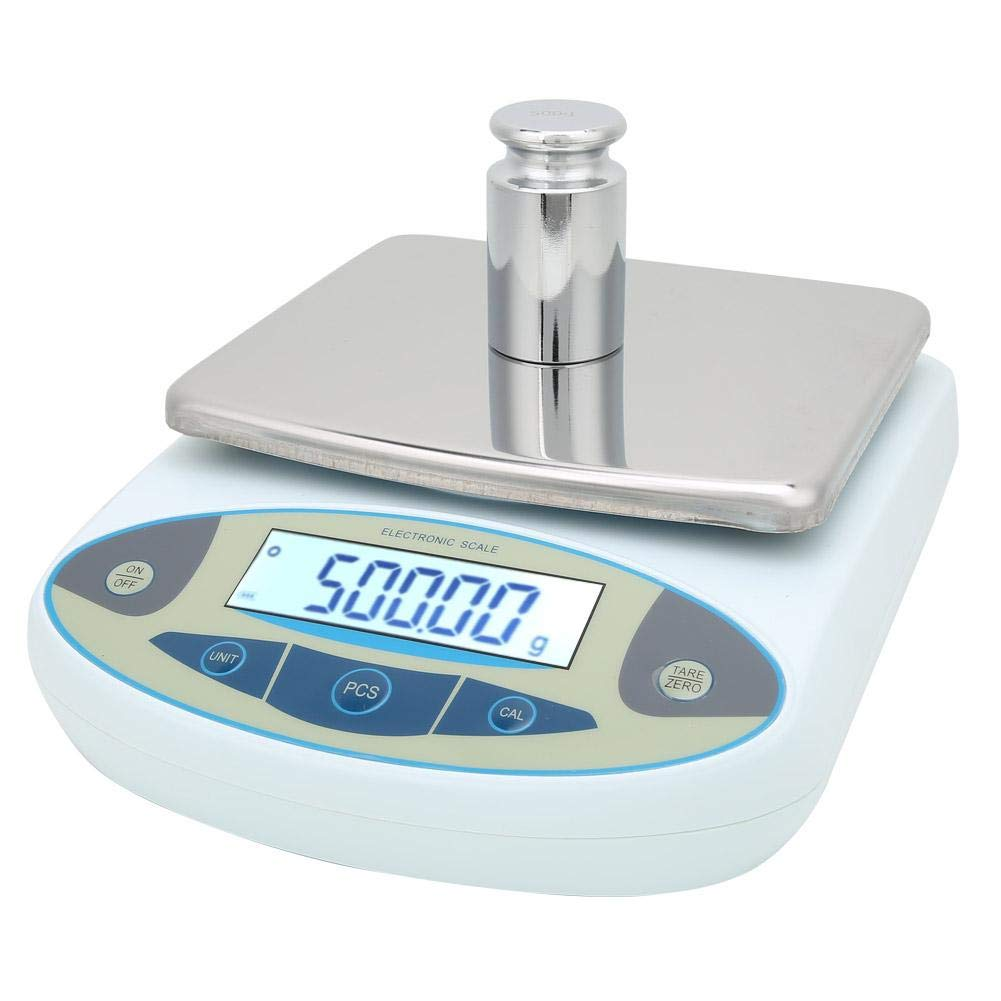 Focket Lab Digital Scales, Multifunctional 1000gx0.01g Accuracy Resolution Precision Analytical Electronic Balance Scale Jewelry Kitchen Scale with LCD Display for Industry, Commerce, School, etc(US) by Focket