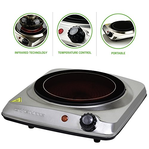 - OVENTE Electric Infrared Burner, 7