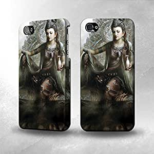Apple iPhone 5 / 5S Case - The Best 3D Full Wrap iPhone Case - Guan Yin