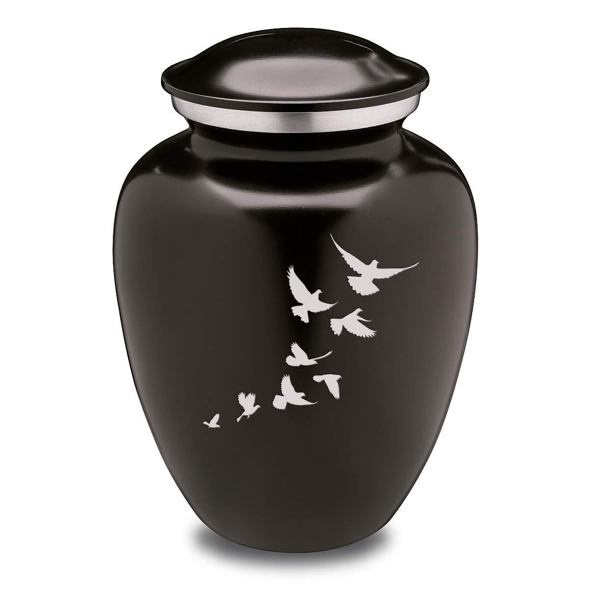 Adult Embrace Doves Cremation Urn for Ashes
