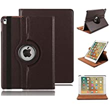 iPad 5 Case Cover,HuLorry Clear Smart Lightweight Cover Slim Sleeve 360 Degree Rotating Case Protection Rugged Protective Popular Cover for iPad Air 9.7 inch Tablet
