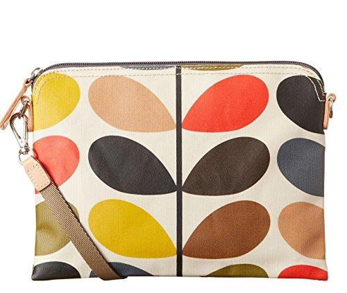 Orla Kiely Classic Multi Stem Travel Pouch Shoulder Bag, ...