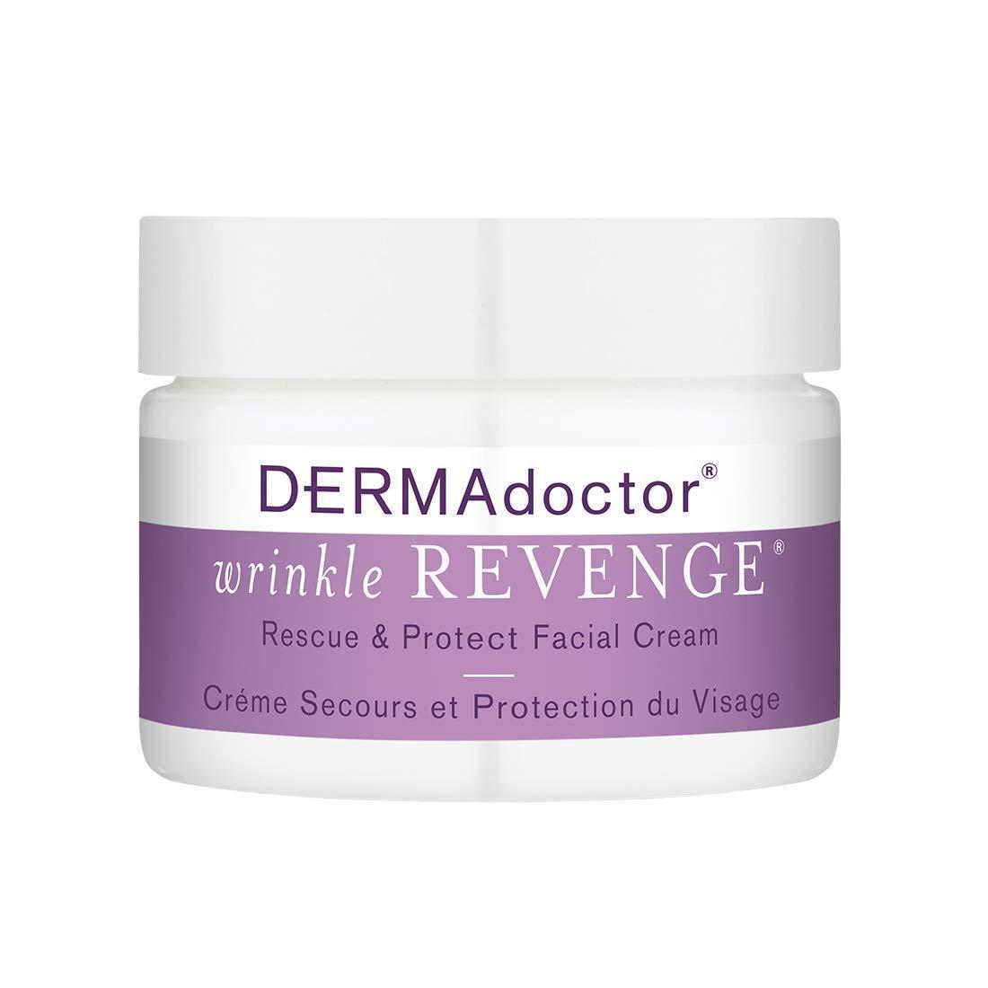 DERMAdoctor Wrinkle Revenge Rescue & Protect Facial Cream, 1.7 fl oz