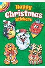 Happy Christmas Stickers (Dover Little Activity Books Stickers)