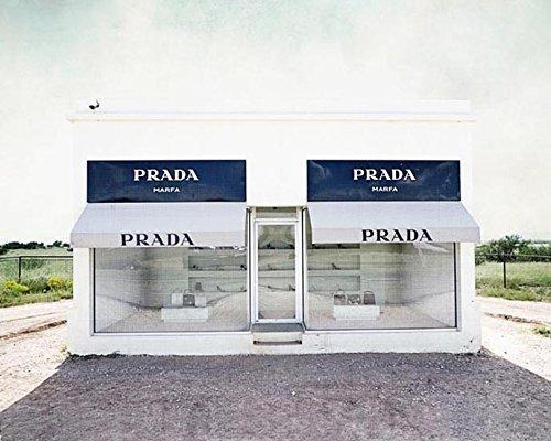 Prada Marfa Photograph home decor West Texas 5x7 inch - Of Prada Images