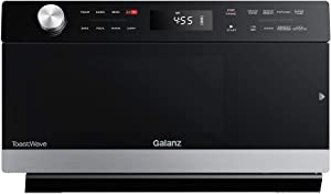 Galanz GTWHG12S1SA10 4-in-1 ToastWave with TotalFry 360, Convection, Microwave, Toaster Oven Air Fryer, 1000W/1.2 Cu.Ft, LCD Display, Cook, Sensor Reheat, Stainless Steel