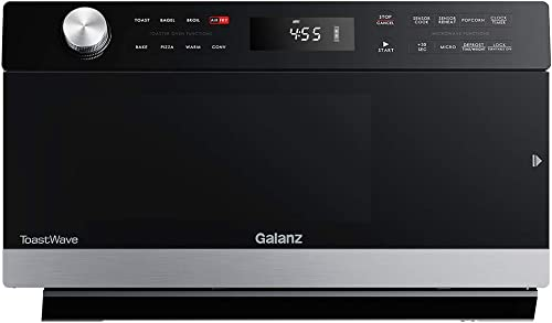 Galanz GTWHG12S1SA10 4-in-1 ToastWave with TotalFry 360, Convection, Microwave, Toaster Oven Air Fryer