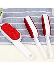 Lint Brush 3 piece epilator, clothes brush, magic travel brush, clothes roller, white