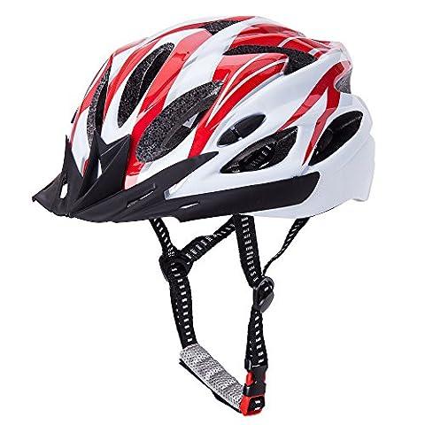 CCTRO Adult Cycling Bike Helmet, Eco-Friendly Adjustable Trinity Men Women Mountain Bicycle Road Bike Helmet Safety - Folding Bike Helmet
