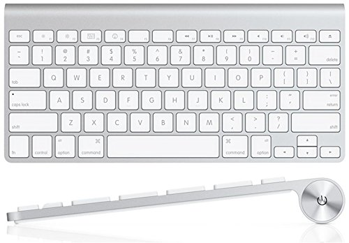 Apple Wireless Keyboard with Bluetooth - Compatible with Mac Computers, iPad, Apple TV, and iPhone. - Apple Keyboard Ipad 2