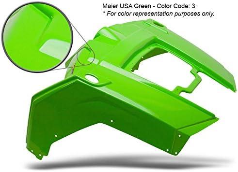 145023 KX250 KX500 Maier USA Rear Fender for Kawasaki KX125 Green