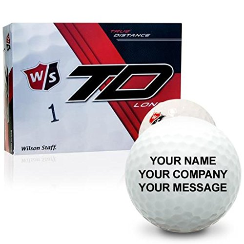Wilson Staff True Distance Long Personalized Golf Balls