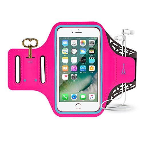 iPhone 7 Armband, Sport Waterproof Running Exercise Gym Fitness Cell Phone Sportband...