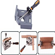 90 Degree Corner Right Angle Clamp Welding Vise DIY Photo Frame Furniture Woodworking Tool Single Handle
