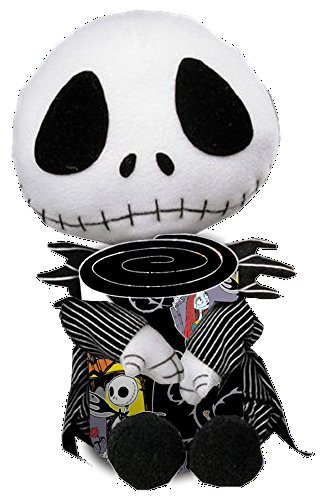 (Disney the Nightmare Before Christmas Throw Blanket Fleece with a Cuddle Pillow ~ Jack)