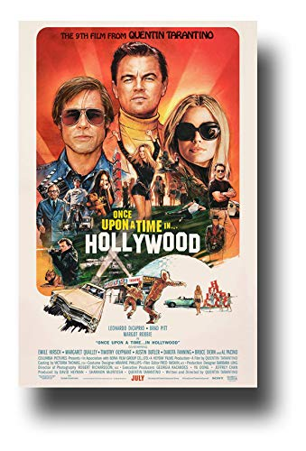 Once Upon A Time in Hollywood Poster Movie Promo 11 x 17 inches Main Sketch