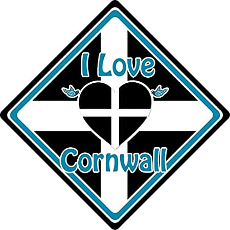 I Love Cornwall Car Sign (5) 51aOJZOQtYL