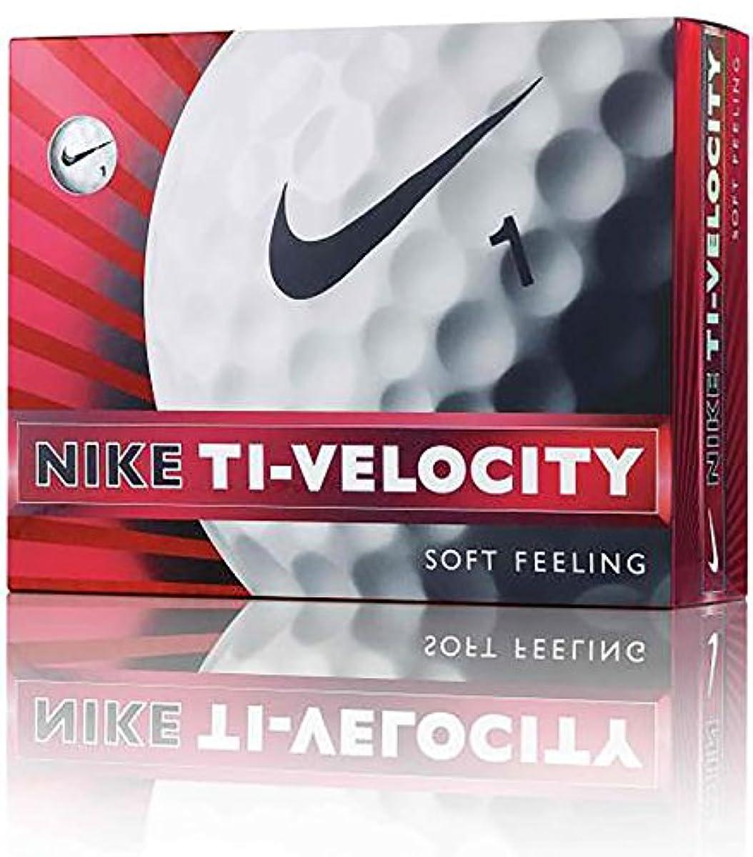 [해외] NIKEGOLF(나이키 골프) 골프 볼 TI-VELOCITY GL0612-101 1다스(12개 들이)