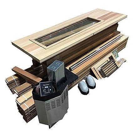 Amazon Com Northern Lights Group Diy Sauna Kit 4 X 6 Complete