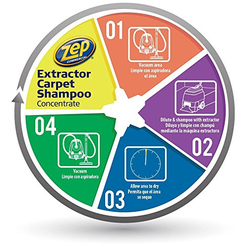 Zep Carpet Extractor Shampoo by Zep (Image #2)