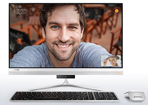 Lenovo IdeaCentre 520S Premium Stylish All-in-One Desktop (2018 Newest), 23-inch Borderless Full HD IPS Touch Screen, Intel Core i5-7200U, 16GB DDR4, 1TB HDD, Dolby Home Theater, HDMI, Windows 10 by Lenovo (Image #1)
