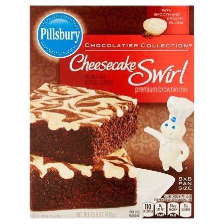Pillsbury Fudge Supreme Cheesecake Swirl Brownie Mix 15.5 (Fudge Brownie Cheesecake)