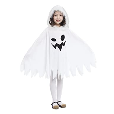 jimall girls halloween costumes ghost scary fanny dress 34 years