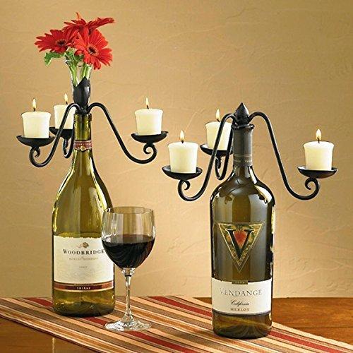 Candelabra Wine Bottle Topper (Candleabras)