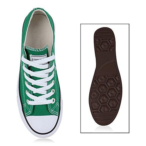 Stiefelparadies - Zapatillas de casa Mujer Verde - Moosgrün