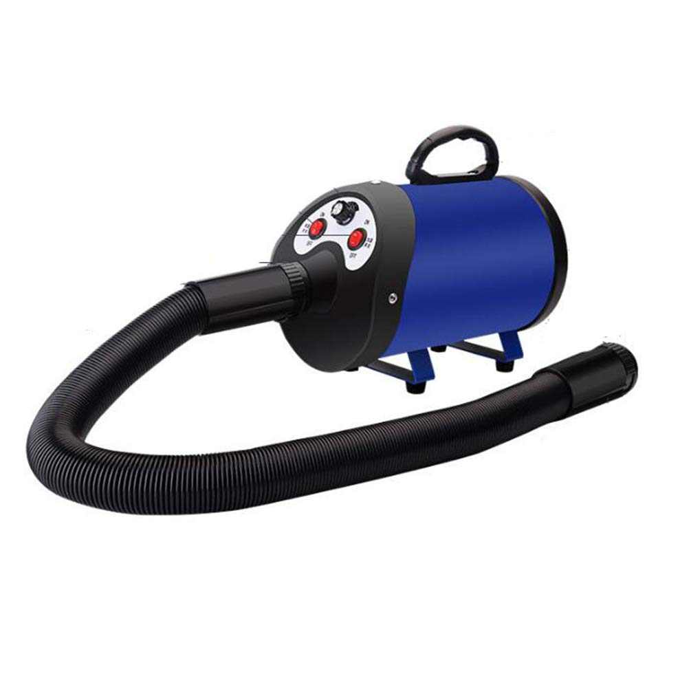 bluee 2200W Variable Speed Pet Grooming Hair Dryer, High Velocity Hairdryer Fur Blowerfor Dogs and Cats
