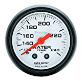 Auto Meter 5732 Phantom Mechanical Water Temperature Gauge