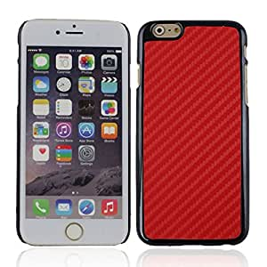 Protective Plastic Back Case Cover for iPhone 6 4.7i Red