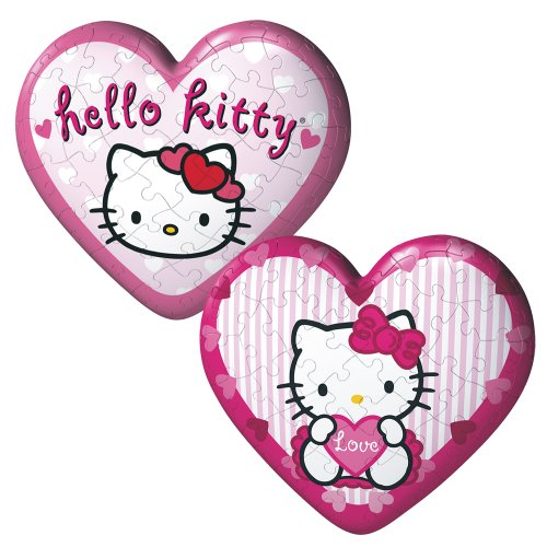 Hello Kitty: Hearts - 60 Piece puzzleball (Set of 2)