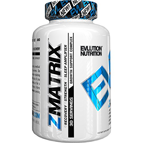 Evlution Nutrition Z-Matrix Nighttime Recovery and Sleep 120 Cap