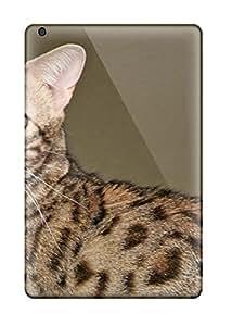 Flexible Tpu Back Case Cover For Ipad Mini 2 - Savannah Cats 2869945J84447648