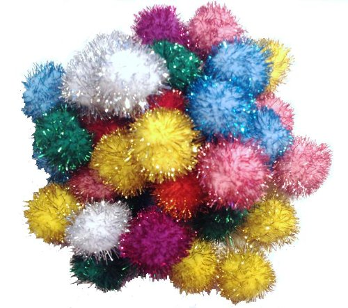 "Sparkle Ball Cat Toy – 20 Pack – 1 "", My Pet Supplies"