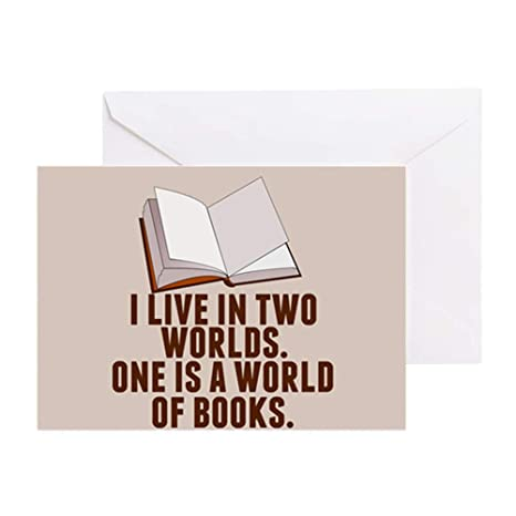 Amazon Com Cafepress Bookworm Rory Greeting Card 20 Pack Note