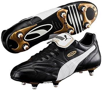 Puma King piel Pro SG Botas de fútbol zapatos de fútbol Zapatillas de running, negro