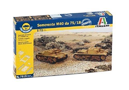 Italeri Models Semovente M40 Da 75/18 Kit by Italeri Models